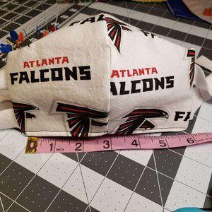 Atlanta Falcons Fitted 100% Cotton Mask Regular
